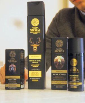 Soins produits beauté homme Natura Siberica