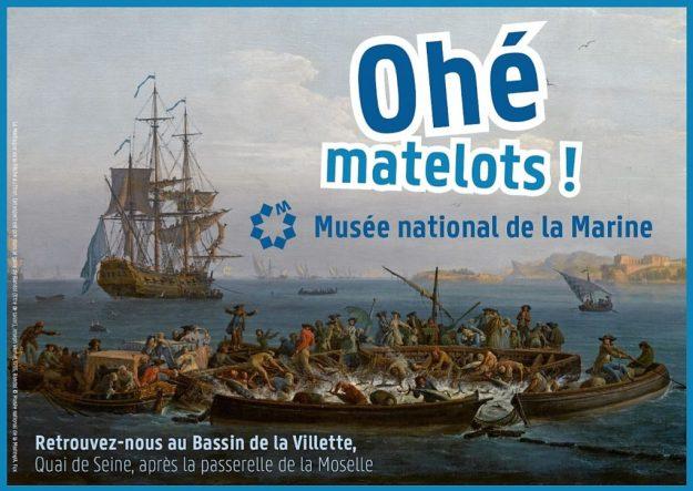 Ohé matelots Musée de la Marine Paris Plages