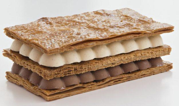 La Pâtisserie des Rêves Millefeuille glace vanille et chocolat