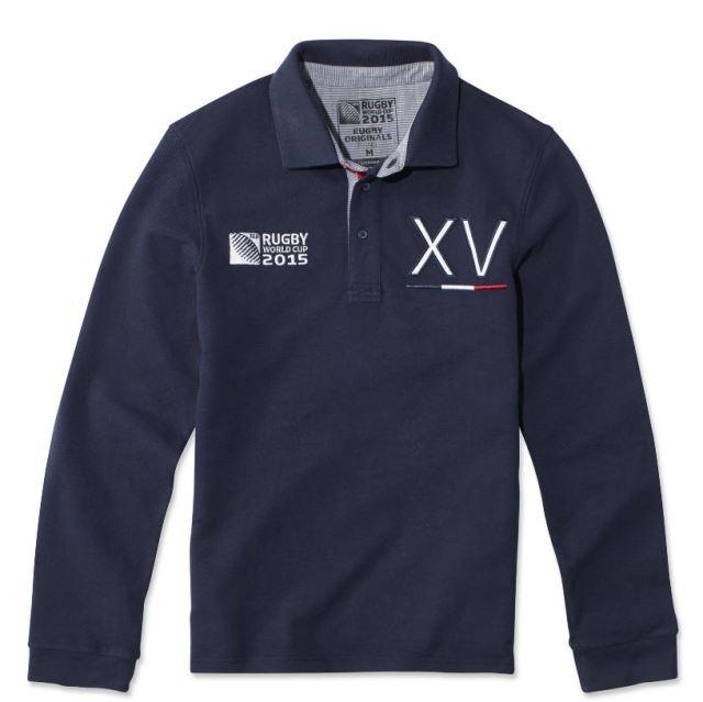 Polo ML Equipe XV de France - Coupe du Monde Rugby 2015