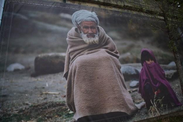 Portaits de réfugiés - Rêve d'Humanité Reza Deghati - Quais de Seine Paris
