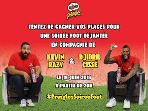 Concours Pringles soirée foot