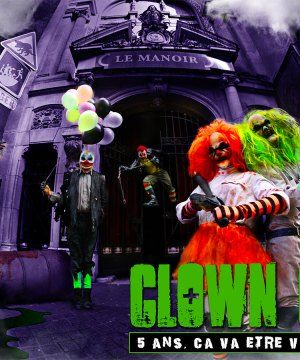 CLOWN CITY LE MANOIR DE PARIS FETE SES 5 ANS