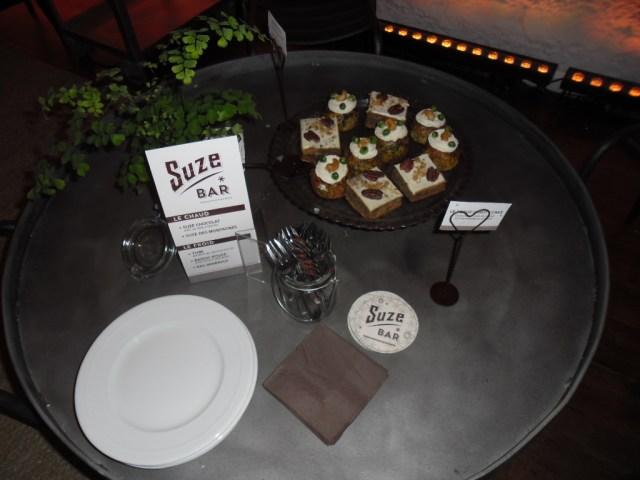 Muffin aux petit pois et fromage