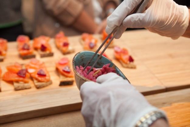 Tartines saumon