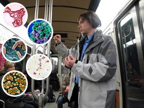 Le métro vecteur de virus et microbes