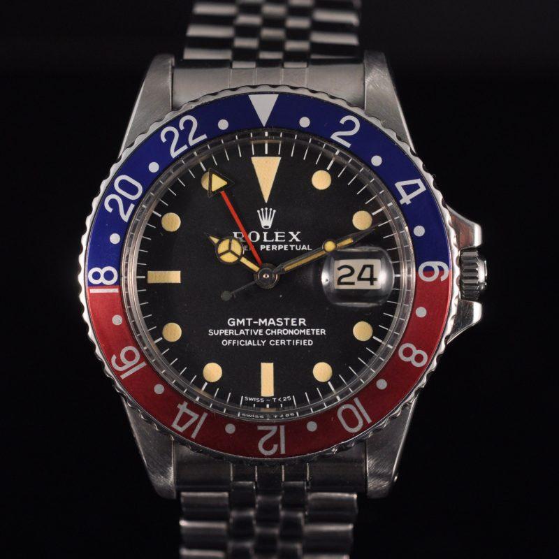 ROLEX GMT 1675 LONG E