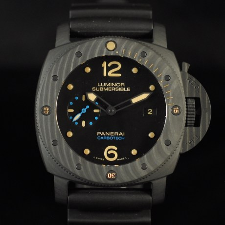 PANERAI SUBMERSIBLE CARBOTECH 3 DAYS PAM 616 FULL SET