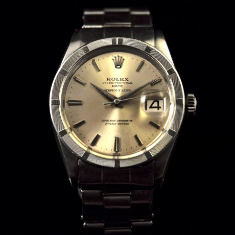 ROLEX OYSTER PERPETUAL DATE REF. 1501 SERPICO Y LAINO
