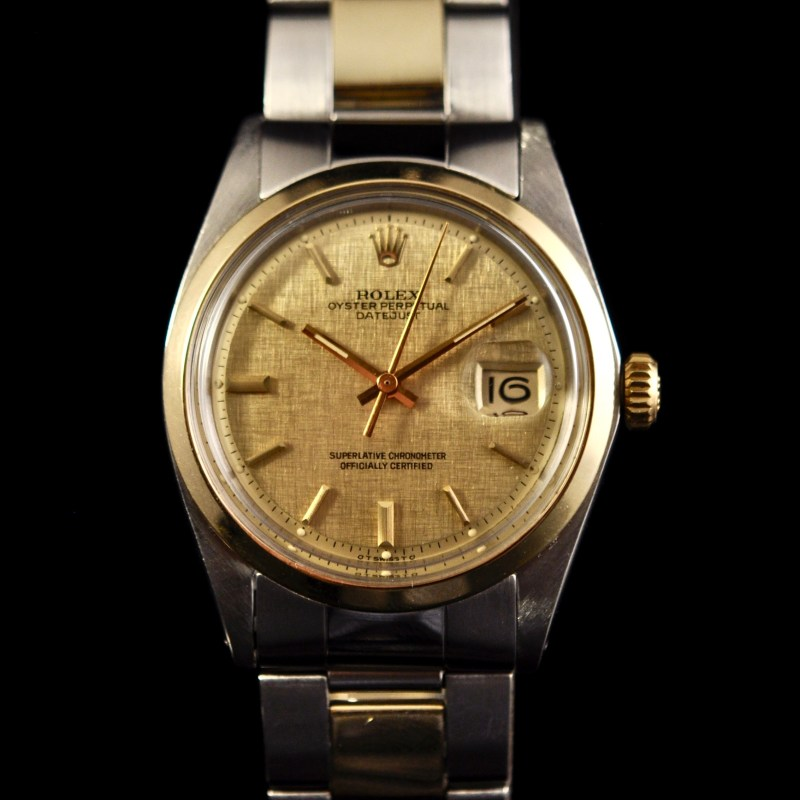 ROLEX DATEJUST REF.1600 GOLD AND STAINLESS STEEL