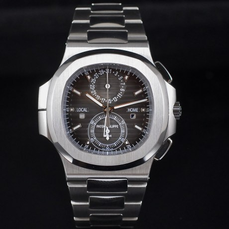 PATEK PHILIPPE NAUTILUS TRAVEL TIME REF. 5990 FULL SET