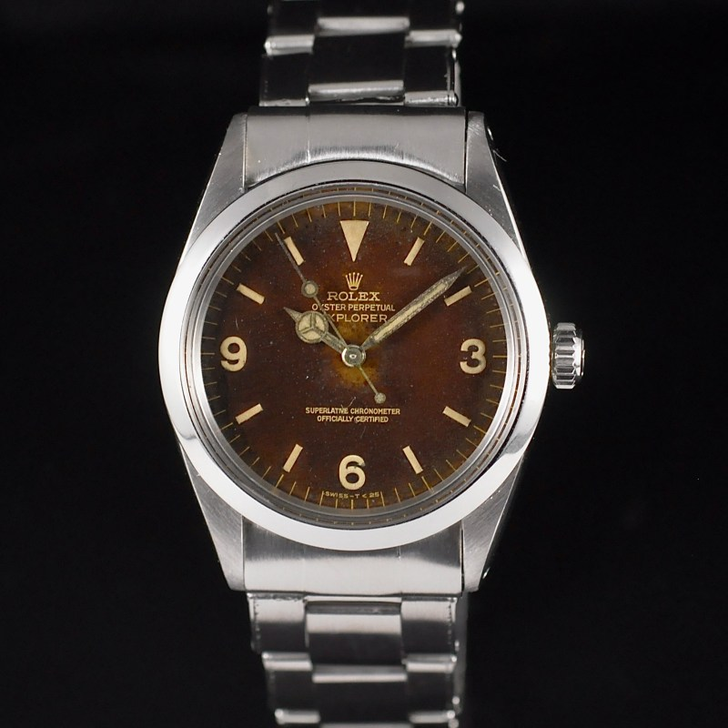ROLEX EXPLORER 1 GILT TROPICAL REF. 1016