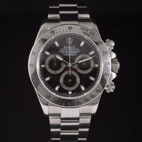 ROLEX DAYTONA REF. 116520 BOX & PAPERS