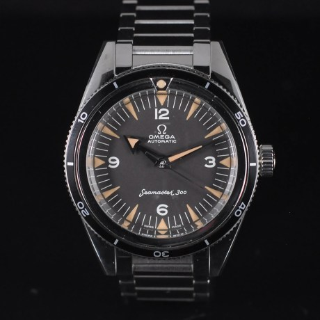 OMEGA SEAMASTER 300 1957 TRILOGY FULL SET