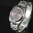 "ROLEX OYSTER PERPETUAL ""RED GRAPE"" REF 116000 BOX AND PAPERS"