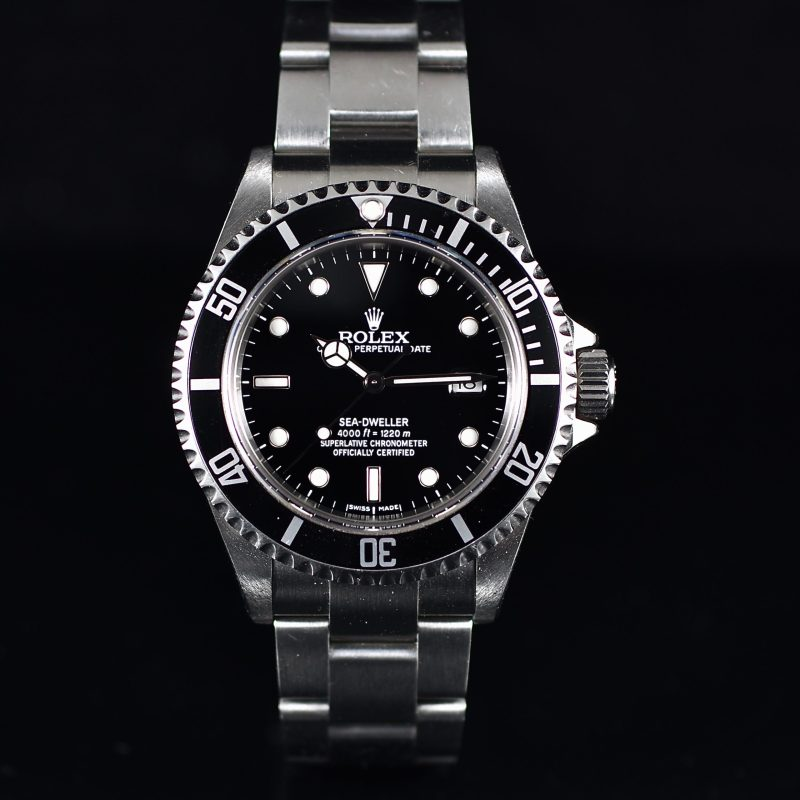 ROLEX SEA-DWELLER REF. 16600T BOX & PAPER