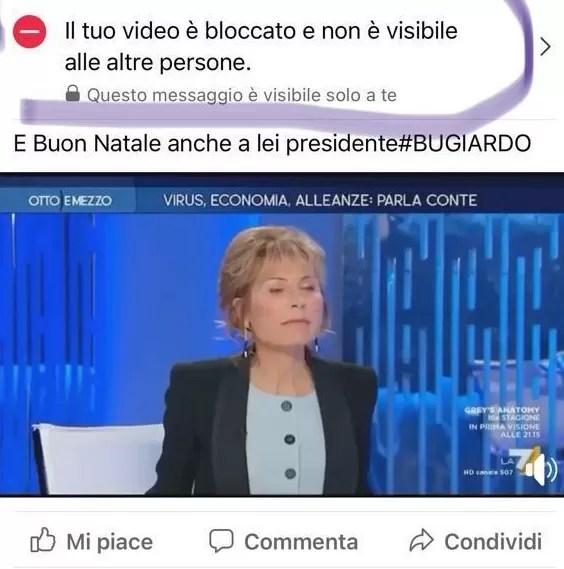 Riportiamo le parole del presidente Mio Paolo Bianchini, in merito a quella che sarebbe un'operazione di censura sui social da parte del governo