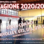 VOLLEY nuova Stagione 2020/2021
