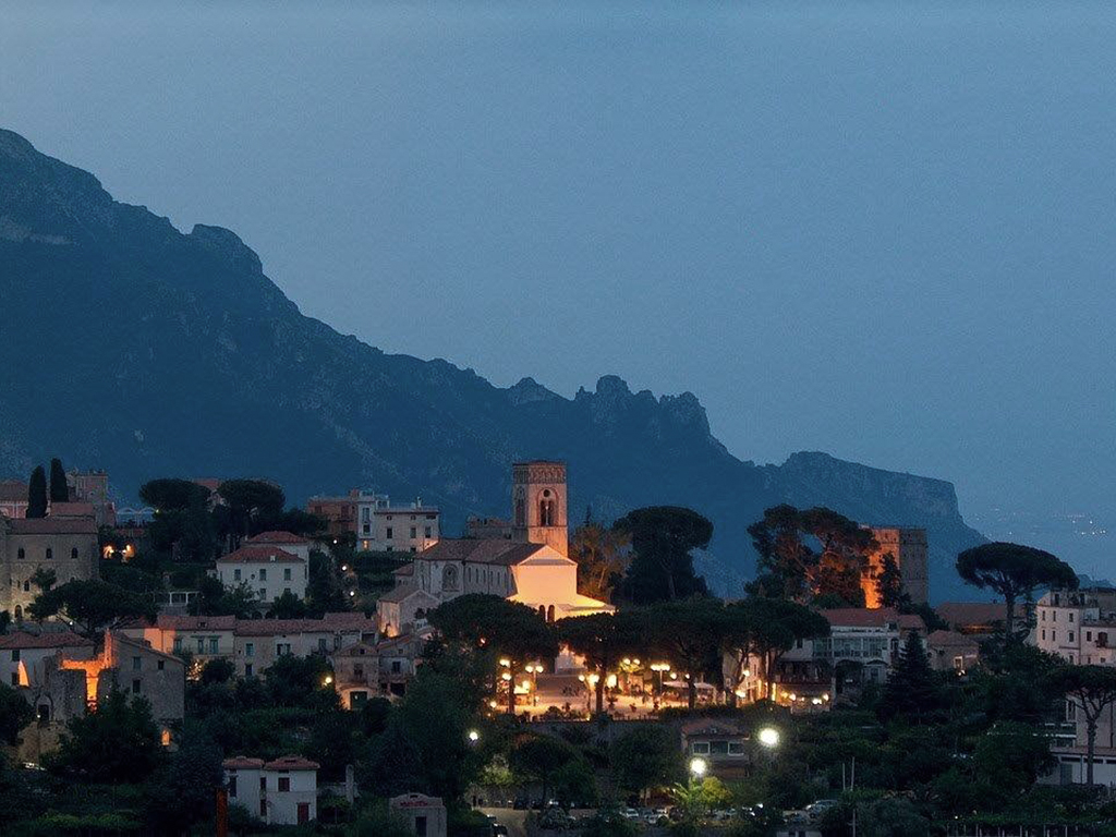 the village of Ravello