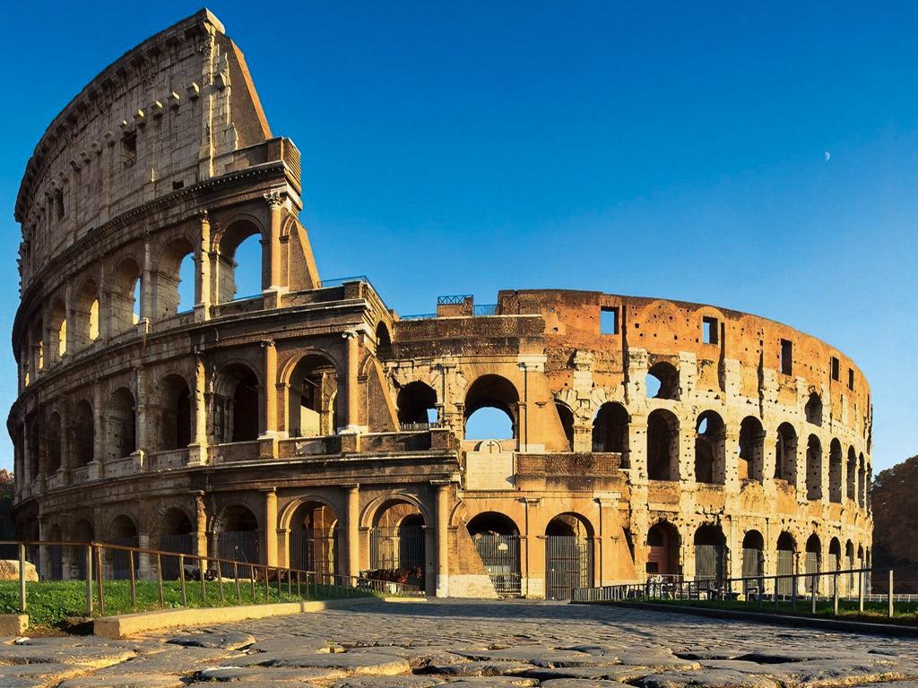 ancient rome colosseo roman gateway