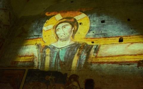 "The ""Sistine Chapel "" at the Roman Forum   –  The church of  St. Maria Antiqua"