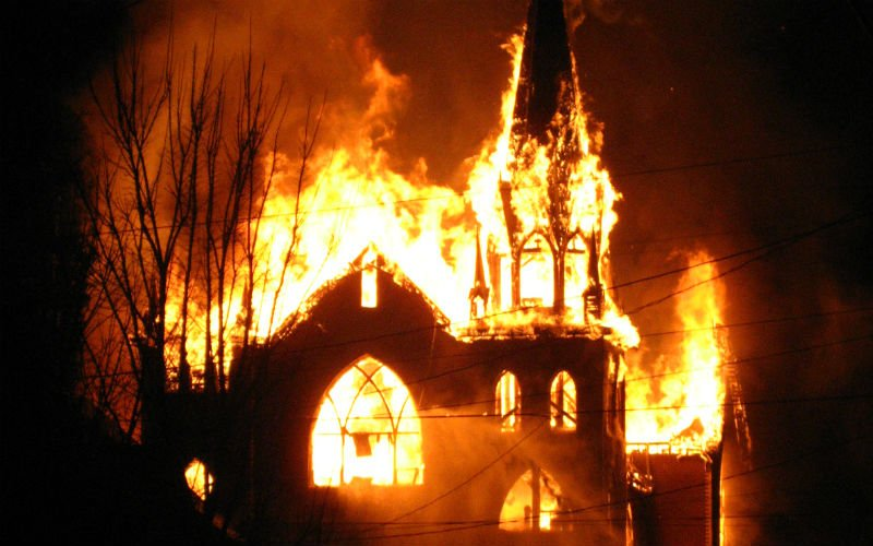 The Catholic Church in this Country is on Fire and Has Been for Decades  Roman Catholic Man