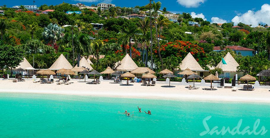 Sandals Grande St. Lucian Spa   Caribbean beach resort