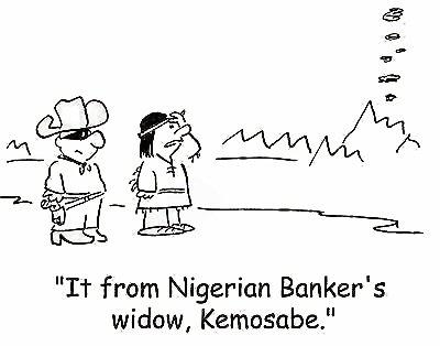 Nigerian Scammer Joke
