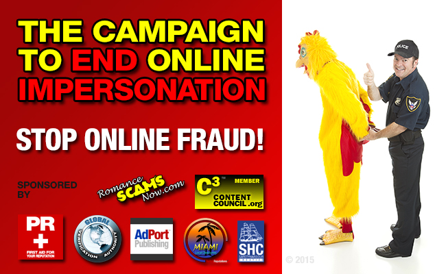 The Campaign To End Online Impersonation - Stop Online Fraud!