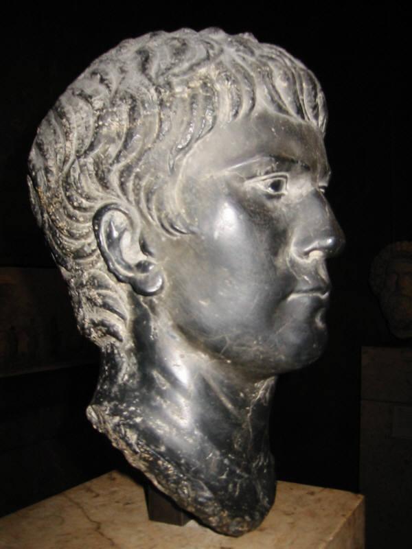 Roman Portrait Sculptures JulioClaudian Dynasty Augustus  Tiberius