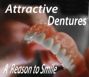 Denture held in hand of Houston dental lab technician