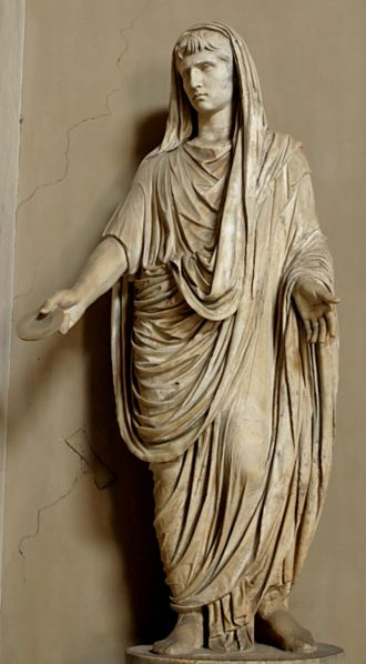 Image result for Augustus statue