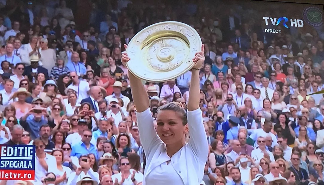 Romanias Simona Halep wins Wimbledon 2019 final  Romania