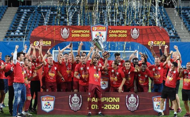 Cfr Cluj Wins Third Consecutive Championship Title In Romania Romania Insider