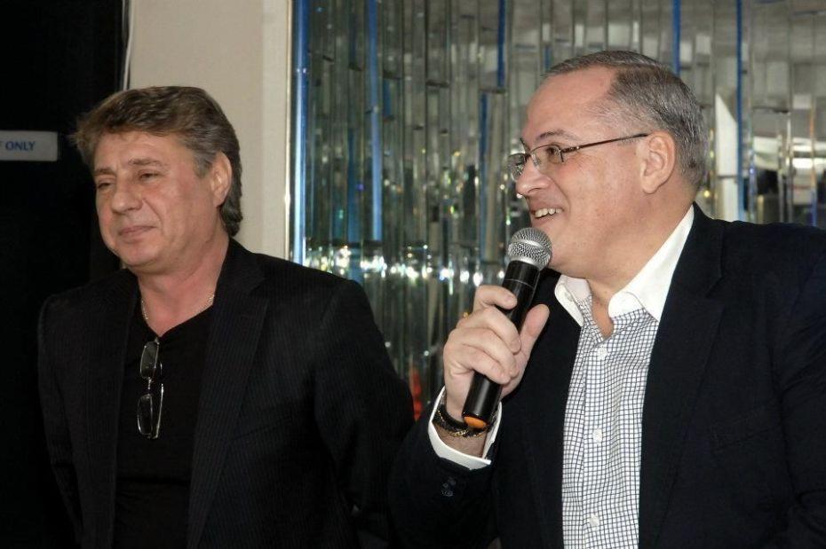 Nicolae Caragia si Bogdan Dragomir - E seara de Ajun (foto arh. Bogdan Dragomir)