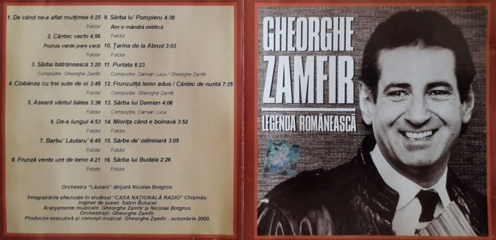 20190401_131102 foto by cover CD Zamfir - Legenda romaneasca (C&P Rapsodia - prel.1100 B.Dragomir)