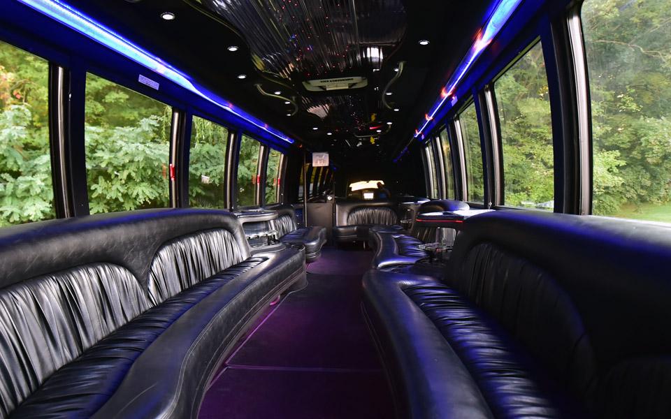 Rent a 2832 Passenger Party Bus Limousine in Boston