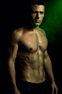 "Colton Haynes como Travis-Maddox en la novela ""Maravilloso desastre"" de Jamie Mcguire."