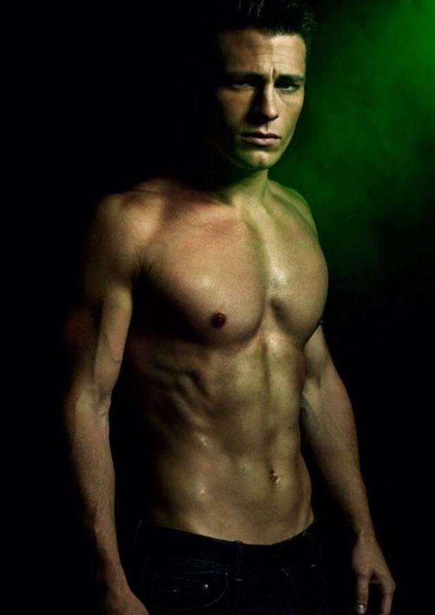 """Colton Haynes como Travis-Maddox  en la novela """"Maravilloso desastre"""" de Jamie Mcguire."""