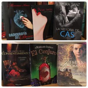 Mis libros firmados por las autoras