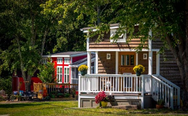 Tiny Homes And Tiny House Communities In Western North