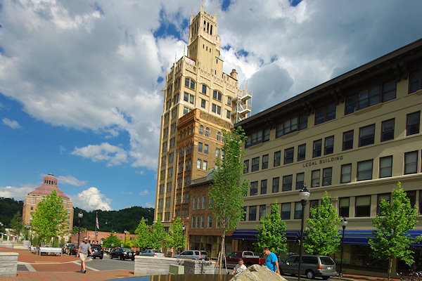 Asheville Downtown Architecture History