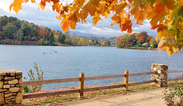 Looking Glass Falls Desktop Wallpaper Fall Foliage Photo Tour Blue Ridge Mountains Nc