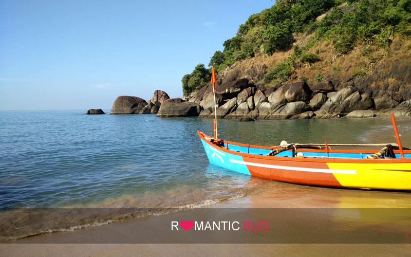 Butterfly Beach in Goa