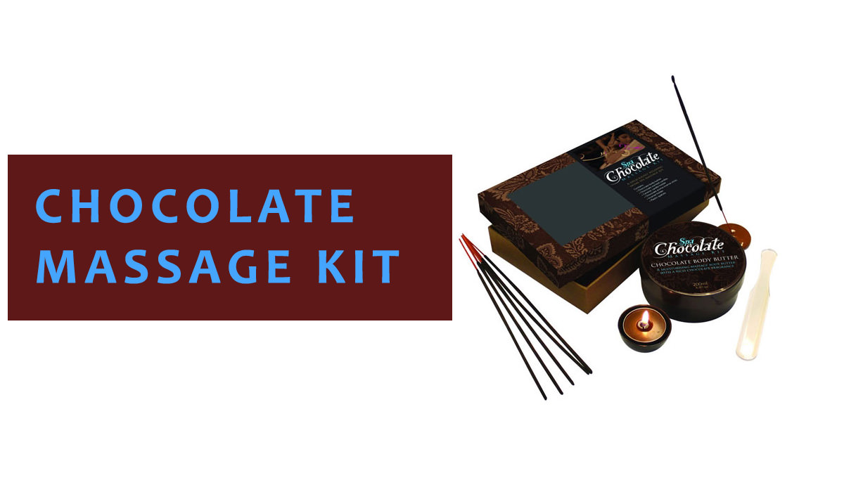 Chocolate Massage Kit
