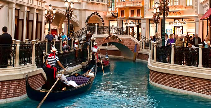 The Venetian in Las Vegas