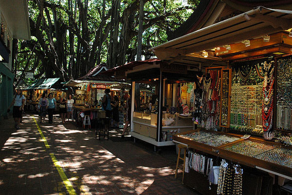 International Market in Hawaii