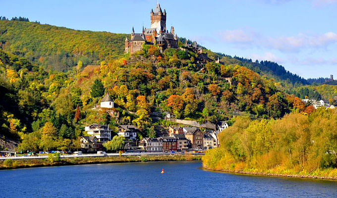 Mosel River Valley germany