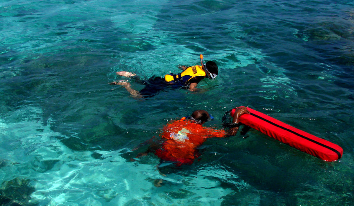 Snorkelling in Lakshadweep