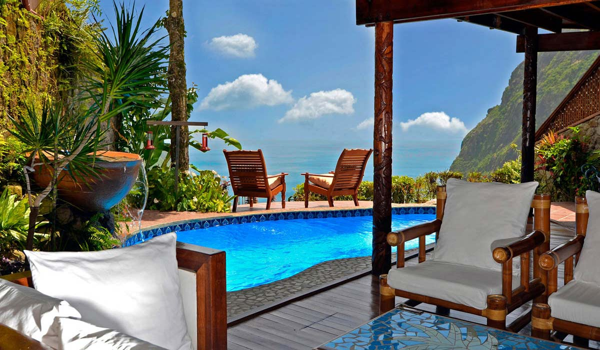 Ladera Resort in St. Lucia